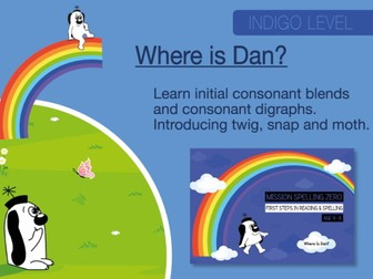 10. Phonics And Spelling Practice: Where Is Dan?