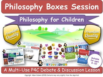 Philosophy Boxes [Core Primary Bundle] English Literature, Literacy, Numeracy, & Computing IT/ICT