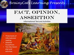 Fact, Opinion, and Commonplace Assertions