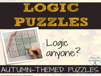 Autumn Logic Puzzles for problem solving