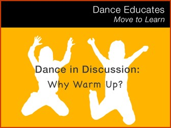 Dance in Discussion: Why Warm Up?