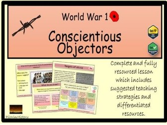 Conscientious Objectors in World War 1