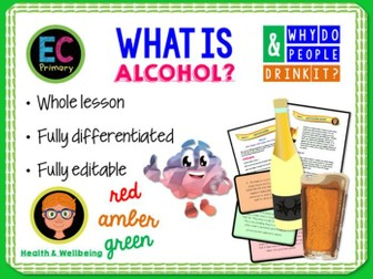 What is alcohol? KS2 PSHE