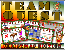 Christmas/End of Term Team Quest Quiz