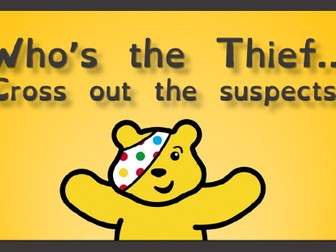 Children in Need - Solve the Crime!