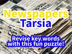 Newspapers Tarsia/Jigsaw