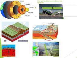 Tectonic plate movement (year 7,8,9)