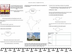 Jeremy Paxman: Empire - Ep.2 - Making Ourselves at Home Worksheet to support the BBC Documentary