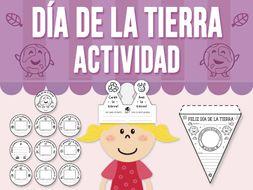 Día de la Tierra - Actividad - SPANISH VERSION
