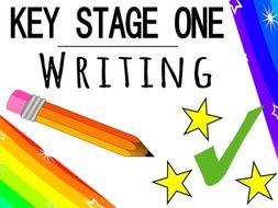 KS1 Writing Resources Bundle