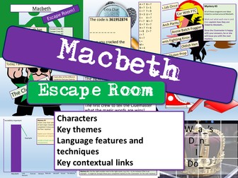 Macbeth Escape Room
