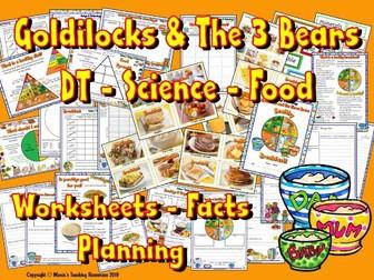 DT /  Breakfast / Goldilocks and The Three Bears