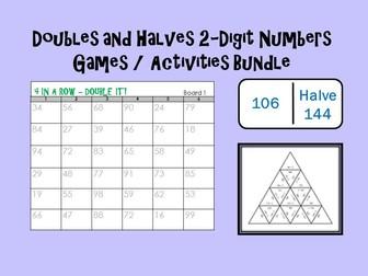 Doubling / Halving Games Bundle