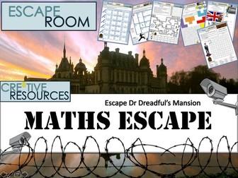 GCSE Maths Escape Room