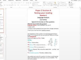8700 AQA English Language Paper 2 Teaching Pack