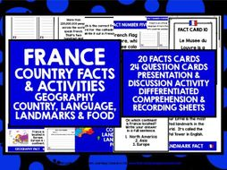 PRIMARY FRENCH FACTS ABOUT FRANCE 1