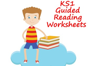 KS1 Guided Reading Worksheets For Any Reading Book Scheme