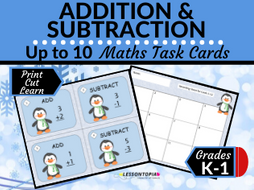 Addition and Subtraction Within 10