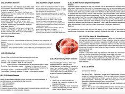 AQA GCSE Biology: Organisation
