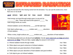 HEAT TRANSFER - Infrared Radiation