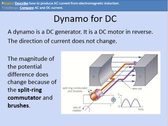 GCSE OCR Physics: Generators