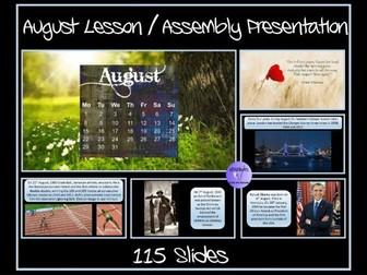 August Presentation