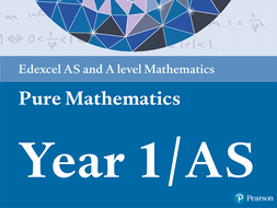A-level Pure Mathematics Year 1/AS