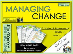 Managing Change PSHE Assessment