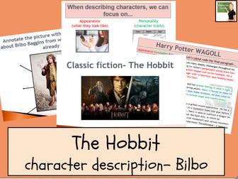 English- The Hobbit- Describing Characters