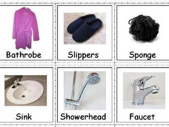 Autism & Special Needs Communication Cards -Bathroom Accessories