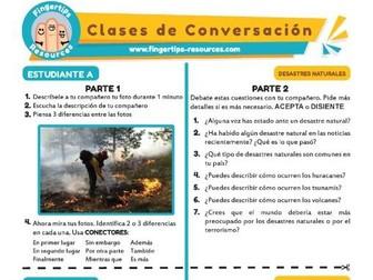 Desastres naturales - Spanish Speaking Activity
