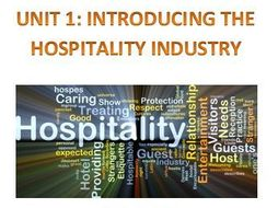 BTEC L2 First Hospitality Unit 1 Exam Booklet