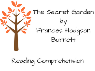 The Secret Garden Reading Comprehension
