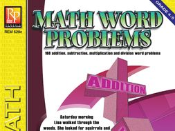 Math Word Problems (Grades 4-5)