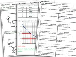 AQA GCSE Physics Paper 1 Revision by leenicholson