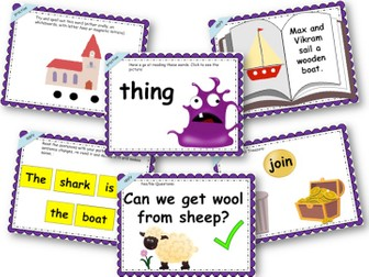Phonics Powerpoint, Phase 3, Week 9 (Revision + all)