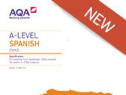 Very useful revision activities for Year 12 Spanish in line with AS - Paper 1 - June 2018