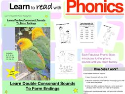 Learn Double Consonant Sounds To Form Endings (as in lk, ft, st, nd) (Learn To Read With Phonics)