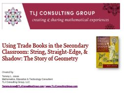 Using Trade Books in the Secondary CR: String, Straight-Edge, & Shadow: The Story of Geometry