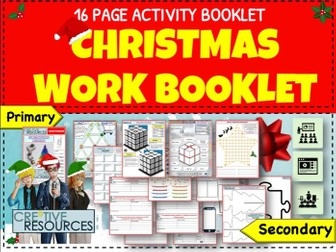 Christmas Activity Workbooklet