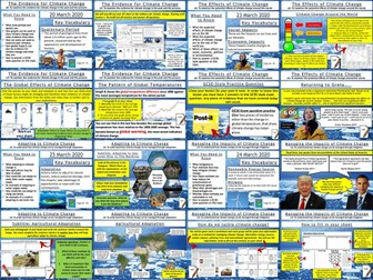 AQA GCSE Geography : Climate Change All Lessons