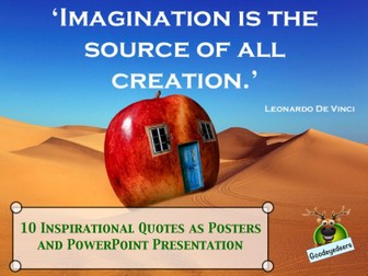 Ten Mindset Posters and PowerPoint Presentation