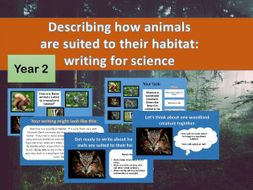 Habitats: writing for science