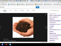 Types of Soil: An Inquiry Study