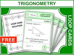 Trigonometry (Loop Cards)
