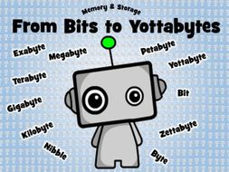 Computer Science Poster: From Bits to Yottabytes