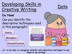 Adverbs and Adjectives for LA KS3