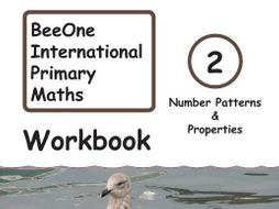 Grade 2 Math Number Pattern & Properties Workbook from BeeOne Books