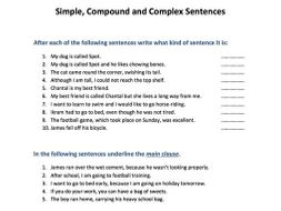Simple, compound and complex sentences by SkillsMastery - Teaching ...