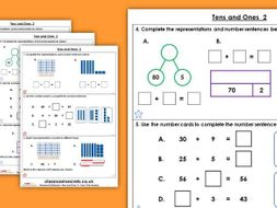 Year 2 Tens and Ones 2 Autumn Block 1 Maths Homework Extension